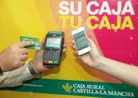 Caja Rural Castilla-La Mancha comercializa la nueva tecnología de pago 'SINcontacto'