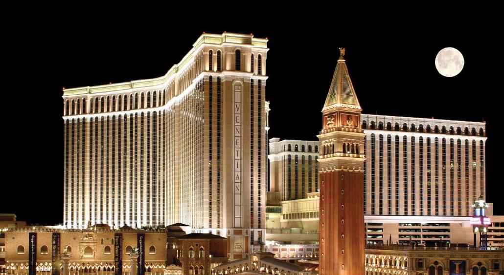 Macrocomplejo de Las Vegas Sands en Nevada (EE UU).