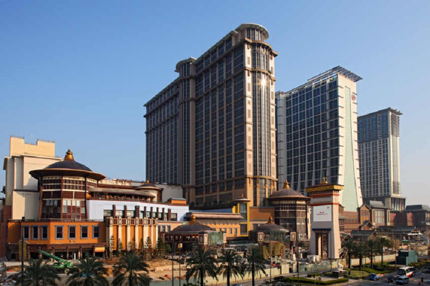 Macrocomplejo de Las Vegas Sands en Macao (China).