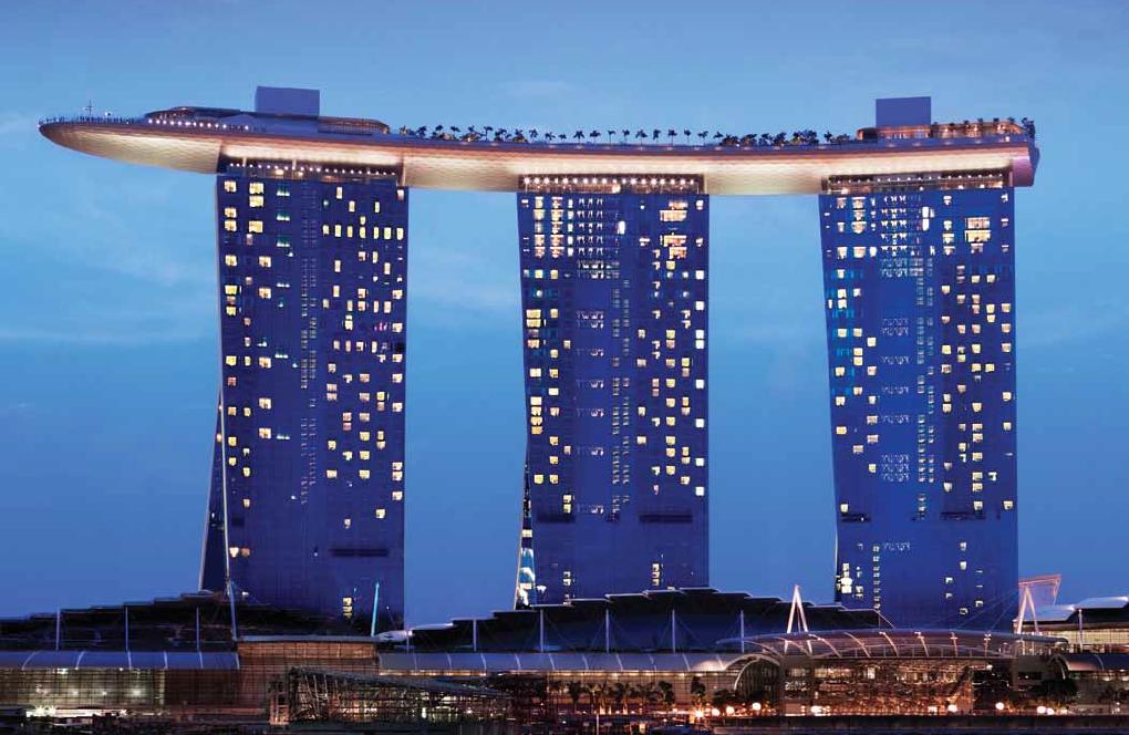 Macrocomplejo de Las Vegas Sands en Singapur.