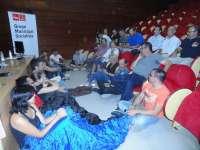 Los concejales del Grupo Socialista inician un encierro para exigir el fin inmediato del 'tarifazo'