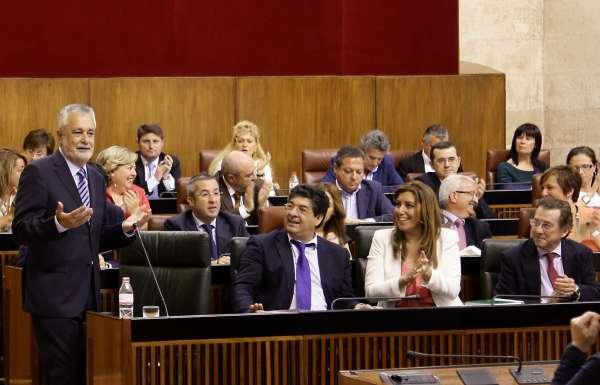 Griñán critica que Gobierno sólo destina a Andalucía el 8,8 por ciento de fondos para políticas activas de empleo
