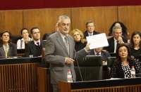 Griñán pide a Zoido que lo acompañe para reclamar ante el Gobierno lo que corresponde a Andalucía