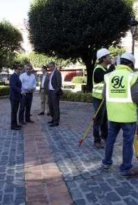 Comienzan la obras de la Plaza San Bartolomé y calle Pomar