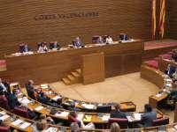 El primer pleno ordinario de las Corts no contará con sesión de control al Consell