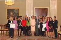 La Reina premia a dos centros de Palma de Mallorca y Valladolid por sus proyectos de educación en valores e integración