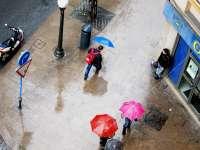 Alerta naranja este viernes en Murcia por lluvias de hasta 40 litros por metro cuadrado en una hora