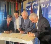 El PP de Málaga, Ceuta y Melilla se unen como