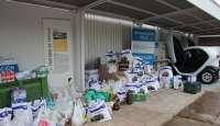 Los trabajadores de Renault donan 5.700 kilos de comida al Banco de Alimentos sevillano