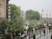 Las lluvias provocan más de 60 incidencias en la provincia, sobre todo en la costa, en alerta roja