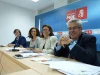 Diputados nacionales del PSOE alertan de que las cuentas