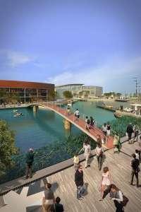 La fase final de Puerto Venecia abre al público con el 90% de su espacio ocupado