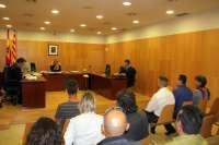 Versiones cruzadas en el juicio por un rifirrafe entre un detenido y Guardias Civiles por hablar en catalán