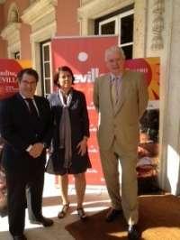 Las instituciones llevan a Lisboa la oferta turística, cultural y de negocios de Sevilla