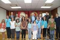 Un grupo de jóvenes con discapacidad intelectual inician sus estudios en la UCAM