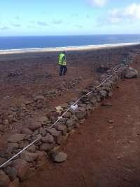 El Cabildo de Fuerteventura rehabilita un total de 1.481 metros de sendero en Cofete y crea un observatorio de aves