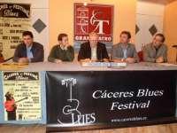 La ciudad de Cáceres se convierte durante tres días en el epicentro del blues con su III Festival Internacional