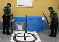 La Guardia Civil detiene a una persona que disparaba contra viviendas en Jumilla (Murcia)