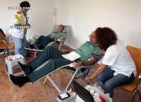 Más de medio centenar de guardias civiles participan en la campaña de donación de sangre