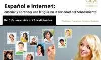 F.El curso sobre 'Español e internet' retrasa la fecha de inicio hasta el 5 de noviembre