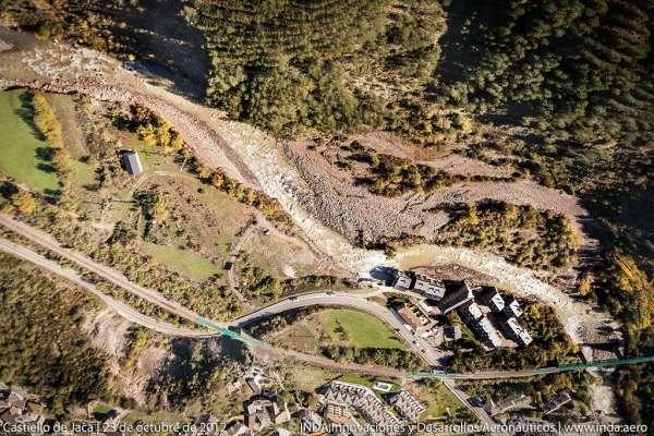 La CHE ejecutará obras de emergencia para reparar los daños de las avenidas por importe de 3,5 millones de euros