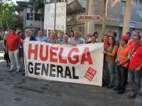Las centrales sindicales canarias apoyan la Huelga General