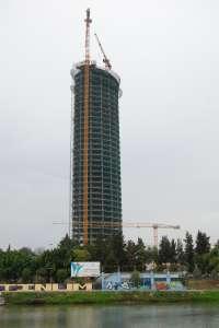 Una empresa ligada al asesoramiento de la torre Pelli prepara el congreso prometido a la Unesco
