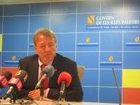 Dimite el conseller de Salud del Govern balear, Antoni Mesquida