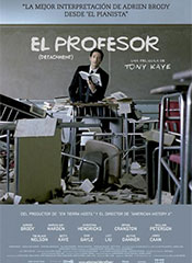 El profesor (Detachment) - Cartel