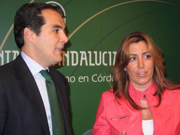 José Antonio Nieto afirma ante Susana Díaz que