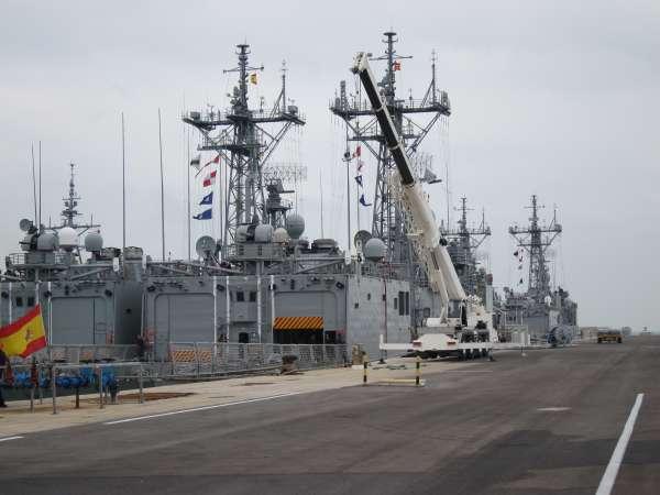 La base naval de Rota acogerá cuatro destructores norteamericanos a partir de 2014