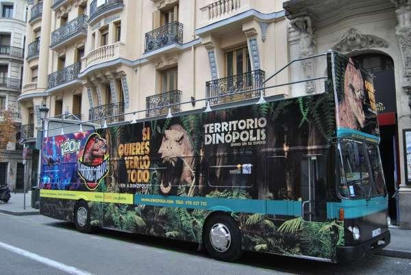 Dinópolis se promocionará en el Teatro Calderón de Madrid