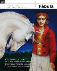 'Arlea' publica el número 33 de 'Fábula' que incluye una entrevista a Muñoz Molina