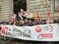 UGT y CC.OO. llaman a los jubilados a manifestarse el día 17 por la revalorización de las pensiones