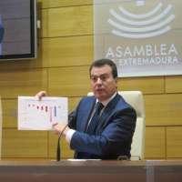 PP e IU se felicitan porque Extremadura cumpla con el 1.5 de objetivo de déficit este año