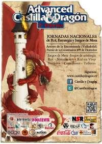 Arroyo (Valladolid) de mañana al 9 de diciembre las II Jornadas Castilla&Dragón sobre rol, estrategia y juegos de mesa
