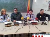 Los Mossos detienen a 20 personas durante el dispositivo Pirineus