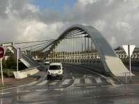 Ayuntamiento de Sestao ha concedido cuatro autorizaciones para grabar spots publicitarios en el puente sobre el Galindo