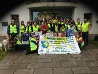 La 59 Marcha Solidaria del 0,77% recoge más de 4 toneladas de alimentos