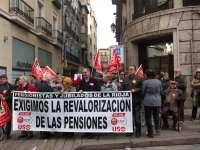 Los pensionistas riojanos se manifiestan