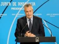Griñán preside este miércoles en Sevilla la entrega de los XXVII Premios Andalucía de Periodismo