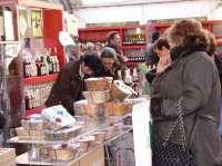 Un centenar de empresas se dan cita desde el miércoles en la Feria Gastronómica y Artesana en la Diputación