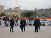 Trabajadores de Metales Extruidos y de Talleres CYM reclaman frente a las Cortes un mayor apoyo de la Junta