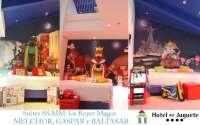 El Hotel del Juguete de Alicante inaugura las tres habitaciones de los Reyes Magos de Oriente