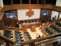 El Parlamento vasco comunicará al Rey la investidura del nuevo lehendakari por correo certificado
