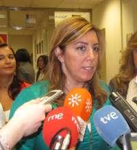 Díaz recalca la lealtad de la Junta con los andaluces y pide al PP-A que