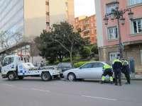La grúa municipal de la capital aragonesa, la más cara de España