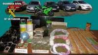 Detienen a 19 personas e imputan a otras 11 por tráfico de drogas en el Campo de Montiel (Ciudad Real)