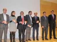 Milagros Marcos, Julio López, José María González y Pedro Muñoz, premios Hemicisco 2012