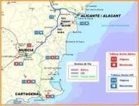 La alcaldesa de Cartagena califica de apuesta histórica la inclusión del municipio en el Corredor Mediterráneo
